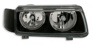 VW Passat B4 přední světla Angel Eyes-Black