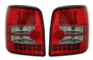 VW Passat B5 variant zadní LED světla. RED