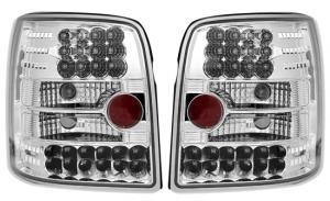 VW Passat B5 variant zadní LED světla. Chrom