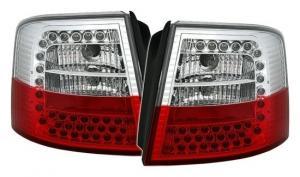 Audi A6 zadní LED světla RedWhite