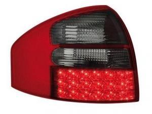 Audi A6 zadní LED světla RedSmoke