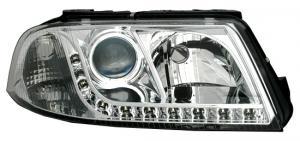 VW Passat B5.5 (3BG) přední světla DAYLINE-Chrom