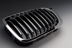 BMW E46 98-01. Maska Chrom. Sedan/Touring.