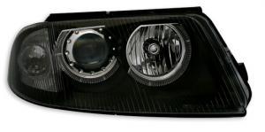 VW Passat B5.5 (3BG) přední světla Angel Eyes-Black