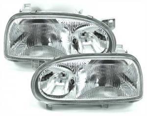 VW Golf 3 přední světla GTi.