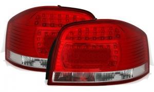 Audi A3 zadní LED světla RedWhite