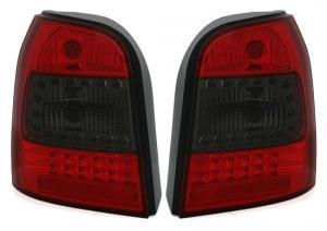 Audi A4 Avant zadní LED světla Red/Smoke