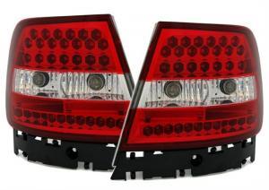 Audi A4 zadní LED světla Red/White