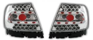Audi A4 zadní LED světla - Chrom