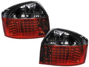 Audi A4 zadní LED světla Red/Smoke