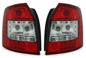 Audi A4 Avant zadní LED světla Red/White