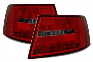 Audi A6 zadní LED světla RedSmoke. 6PIN