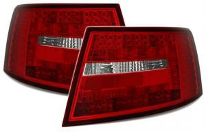 Audi A6 zadní LED světla RedWhite. 6PIN