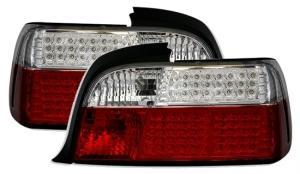 BMW E36 (coupe) zadní LED světla Red/White.