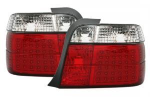 BMW E36 (compact) zadní LED světla - Red/White.