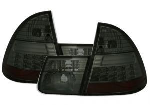 BMW E46 (touring) zadní LED světla - Smoke.