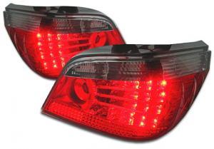 BMW E60 zadní LED světla RedSmoke.