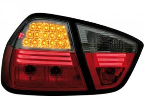 BMW E90 (sedan) zadní LED světla Red/Smoke.