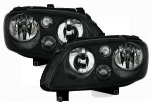 VW Touran přední černá světla.