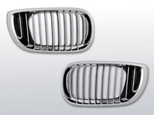 BMW E46 (facelift) Maska Chrom. Sedan/Touring.