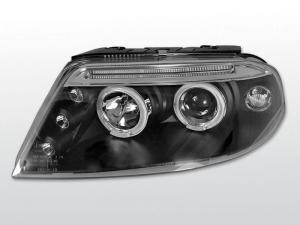 VW Passat B5.5 (3BG) přední světla Angel Eyes-Black.