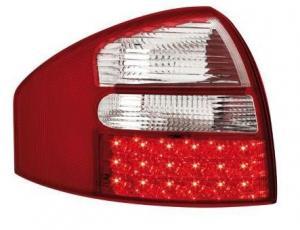 Audi A6 zadní LED světla RedWhite.