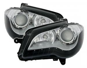 VW Touran přední Dayline světla-black.