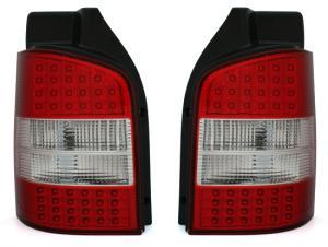 VW T5 zadní LED světla Red/White.