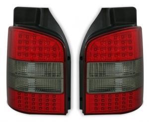 VW T5 zadní LED světla Red/Smoke.