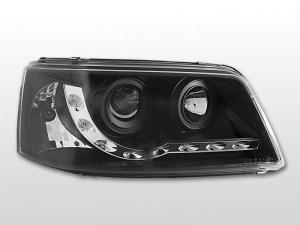 VW T5 přední světla DAYLINE-Black.