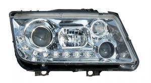 VW Bora přední světla DAYLINE-Chrom