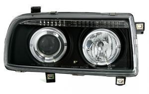 VW Vento přední světla Angel Eyes-Black