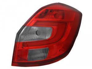 Škoda Fabia 2 - Zadní světla LED BAR.