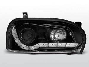VW Golf 3 přední světla DAYLINE-Black