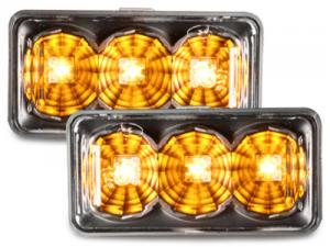 VW Golf 3 boční LED blinkry - Black.