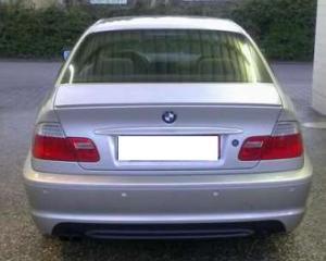 BMW E46 (sedan) odtrhová hrana.