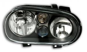 VW Golf 4 přední černá světla