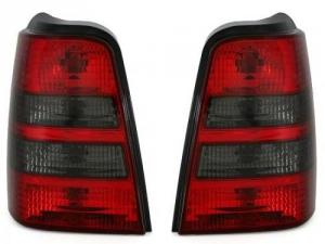 VW Golf 3 kombi zadní crystal světla Red/Smoke.
