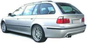 BMW E39 touring - zadní M5 nárazník s PDC.