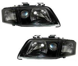 Audi A6 přední světla-Black.