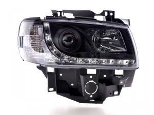 VW T4 přední světla DAYLINE-Black.
