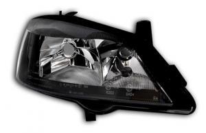 Opel Astra G přední světlo-Black-Pravé