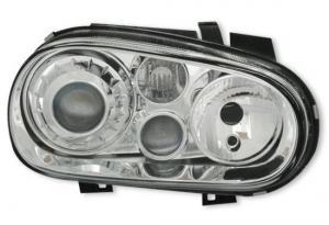 VW Golf 4 přední světla-Chrom