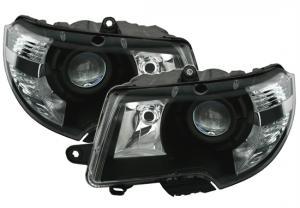 Škoda Superb přední světla-Black.