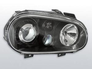 VW Golf 4 přední světla-Black