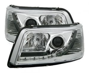 VW T5 přední světla DAYLINE-Chrom