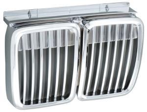 BMW E30 - přední chrom maska.