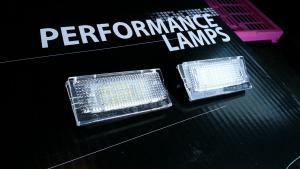 BMW E46 - LED osvětlení SPZ.