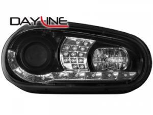 VW Golf 4 přední světla DAYLINE-Black