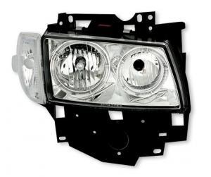 VW T4 přední světla Angel Eyes-Chrom
